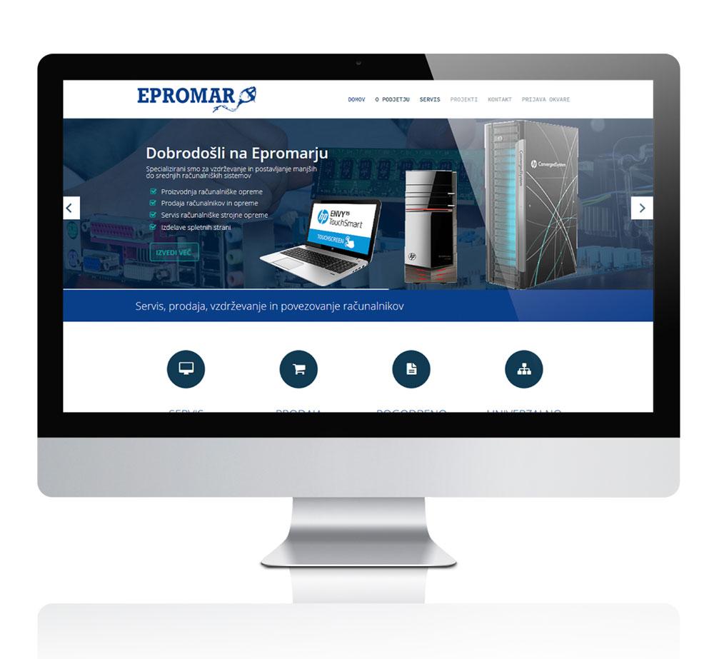 Prenova spletne strani Epromar d.o.o.4