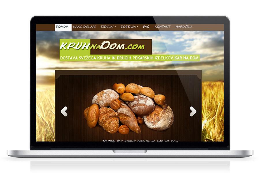 Spletna stran Kruh Na Dom